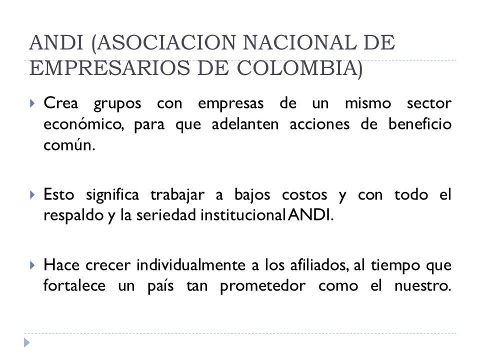 ANDI (ASOCIACION NACIONAL DE EMPRESARIOS DE COLOMBIA)