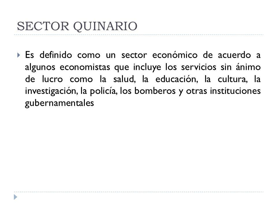 SECTOR QUINARIO