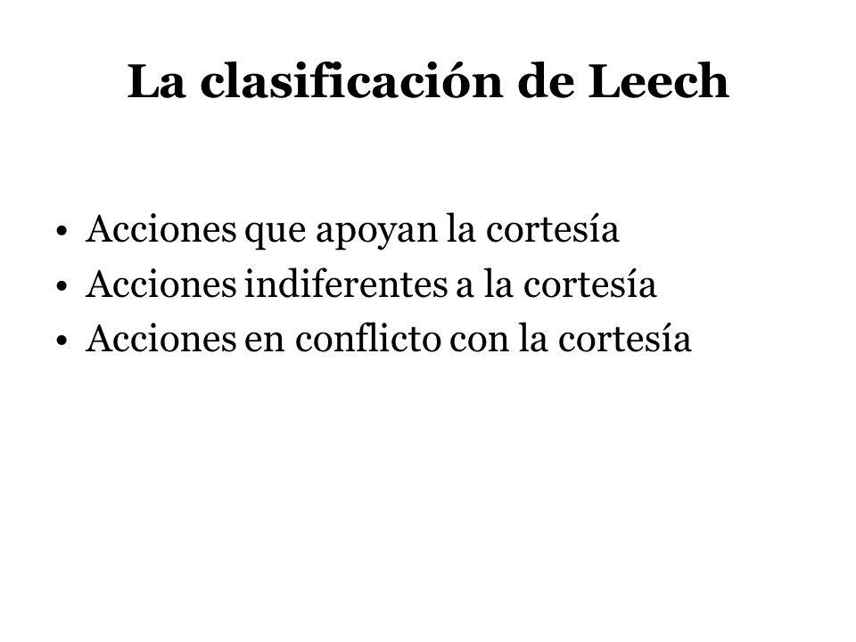La clasificación de Leech