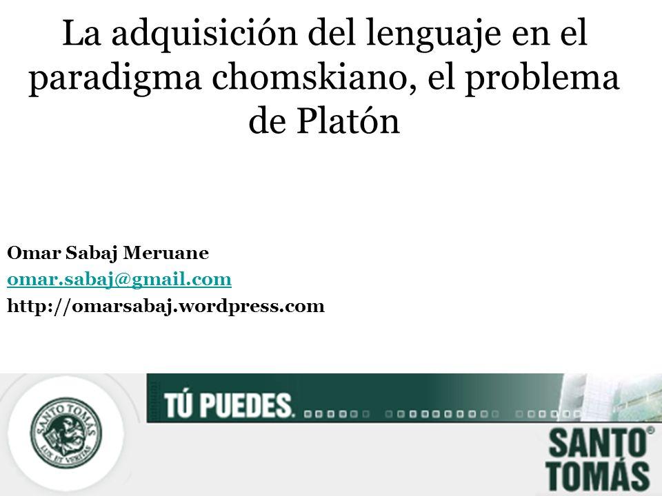Omar Sabaj Meruane omar.sabaj@gmail.com http://omarsabaj.wordpress.com