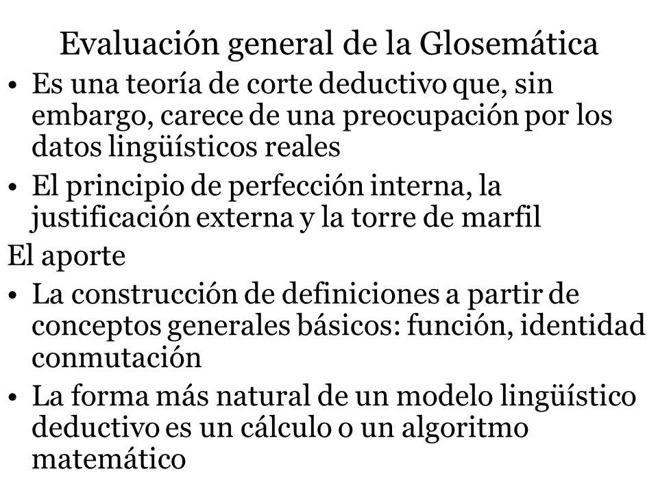 Evaluación general de la Glosemática