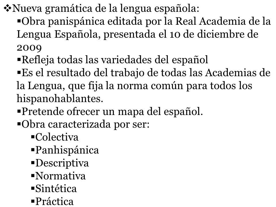 Nueva gramática de la lengua española: