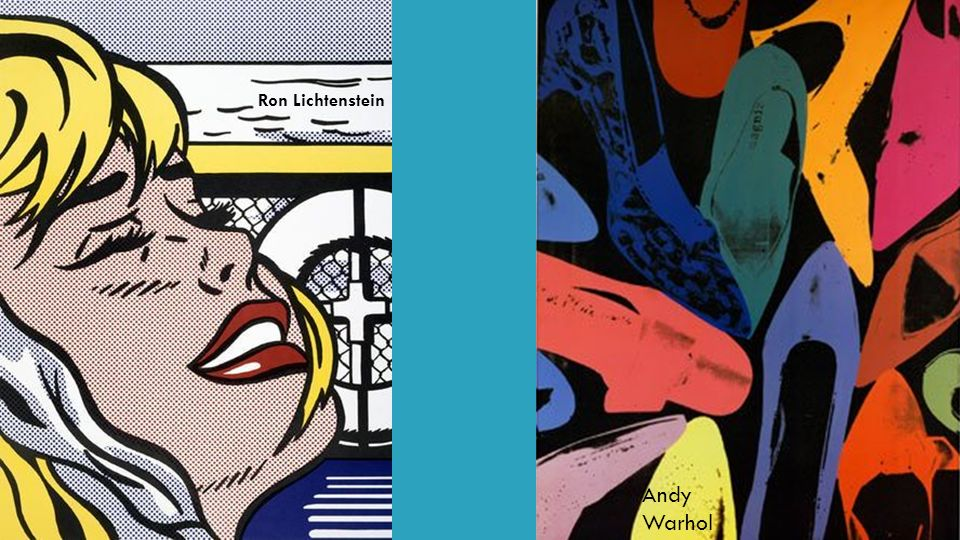 Ron Lichtenstein Andy Warhol