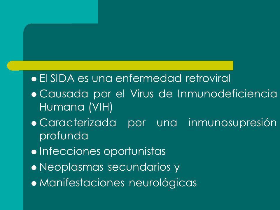 El SIDA es una enfermedad retroviral