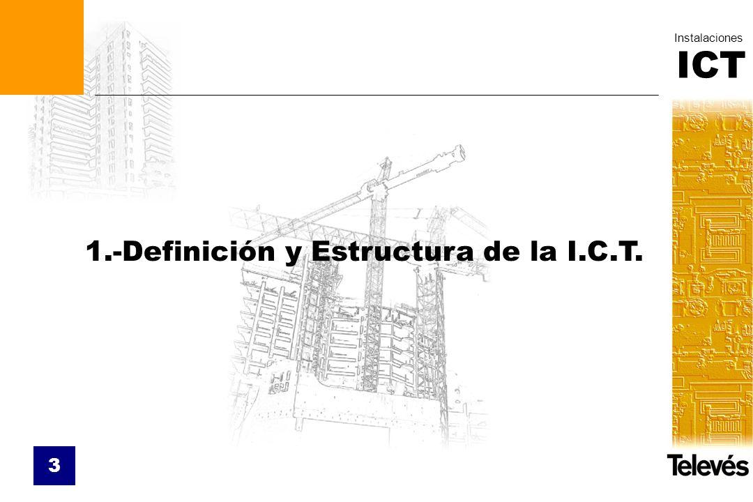 1.-Definición y Estructura de la I.C.T.
