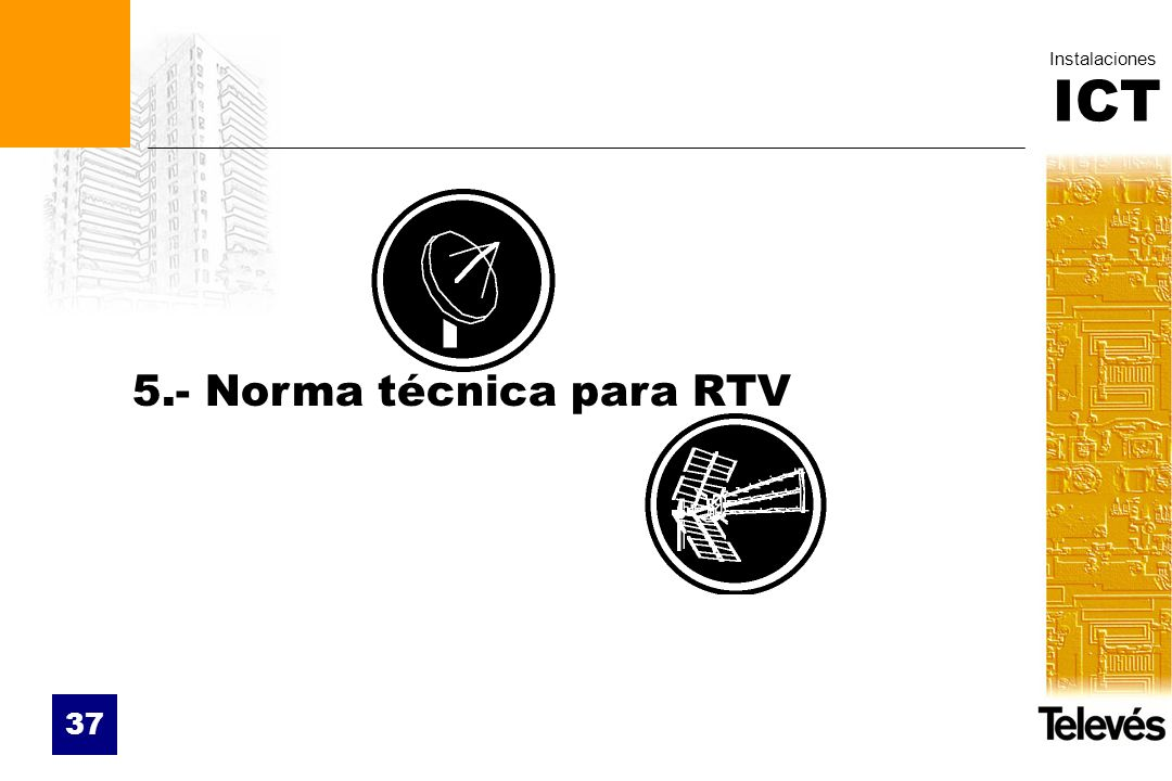 5.- Norma técnica para RTV
