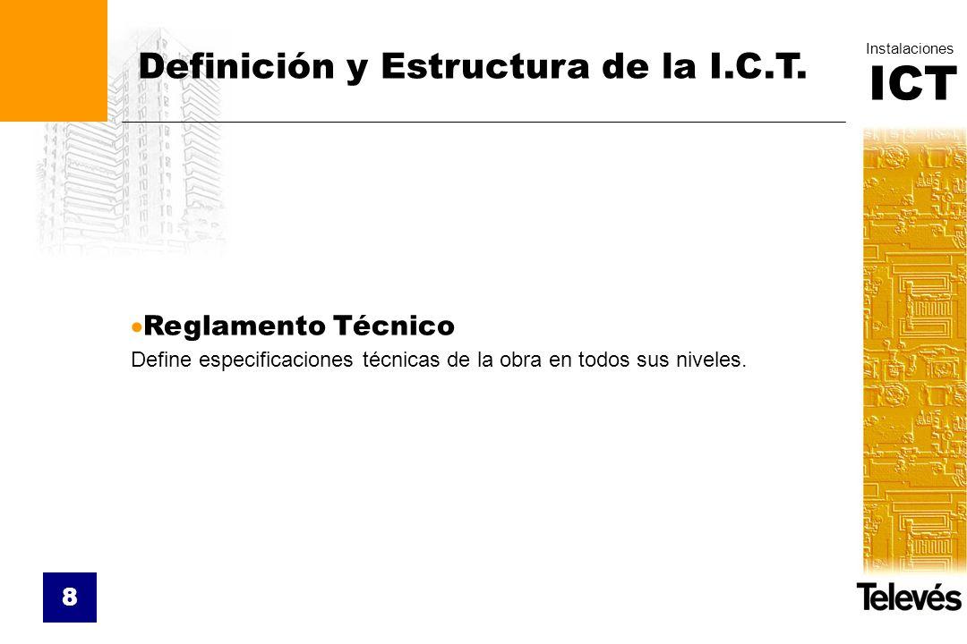 Definición y Estructura de la I.C.T.