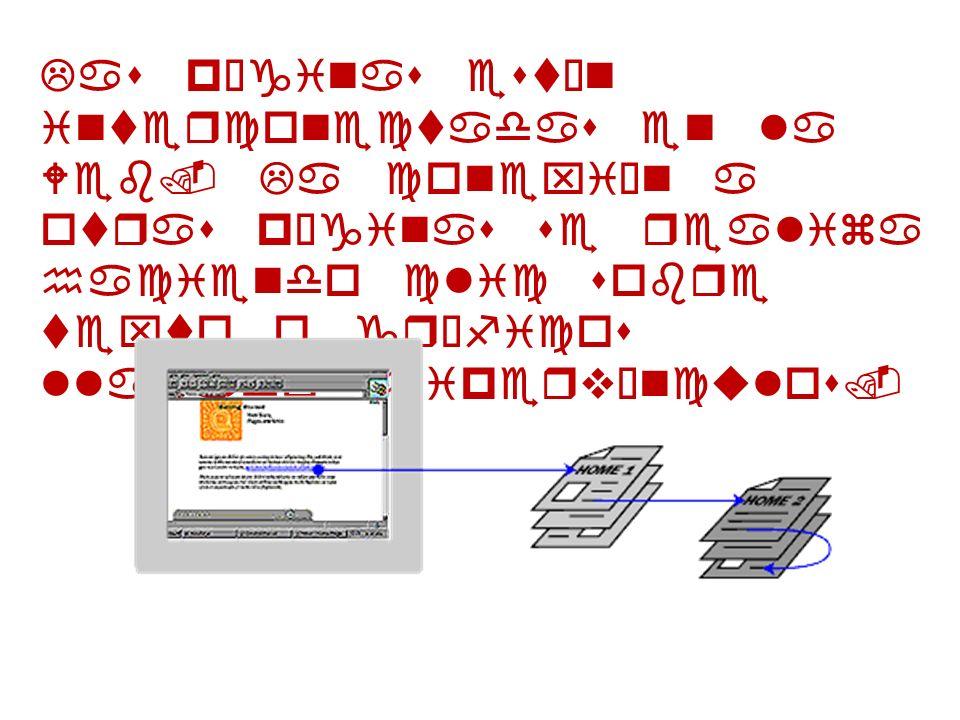 Las páginas están interconectadas en la Web