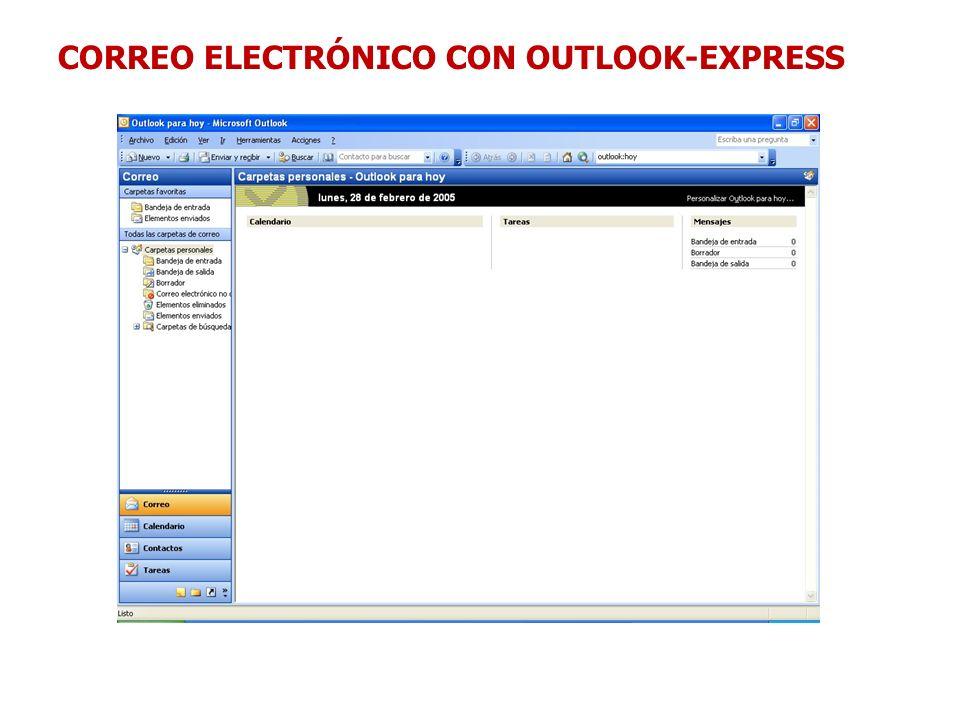 CORREO ELECTRÓNICO CON OUTLOOK-EXPRESS