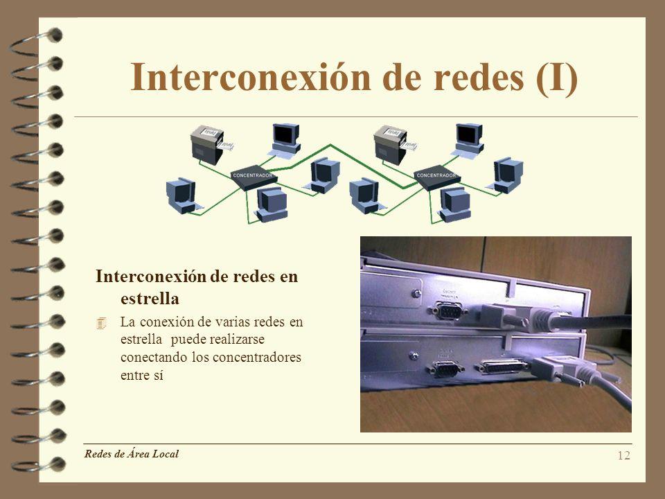 Interconexión de redes (I)