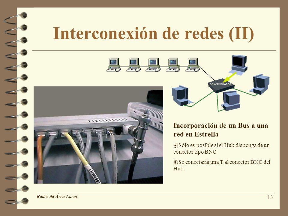 Interconexión de redes (II)
