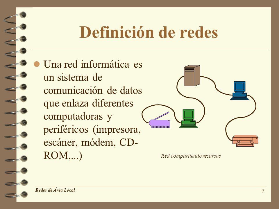 Definición de redes