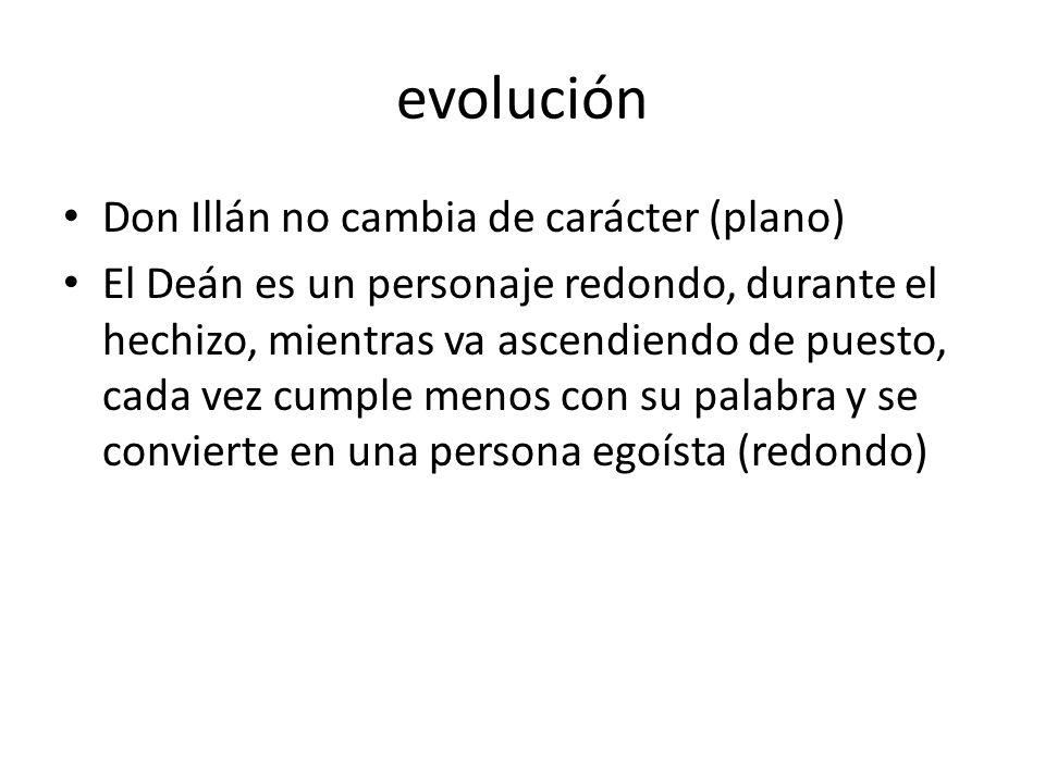 evolución Don Illán no cambia de carácter (plano)