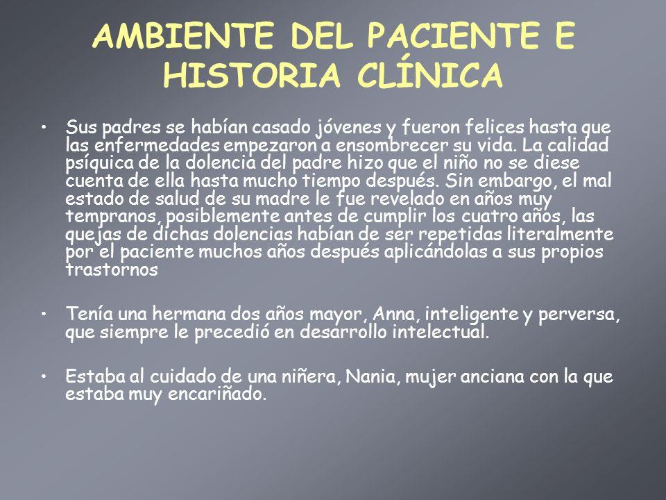 AMBIENTE DEL PACIENTE E HISTORIA CLÍNICA