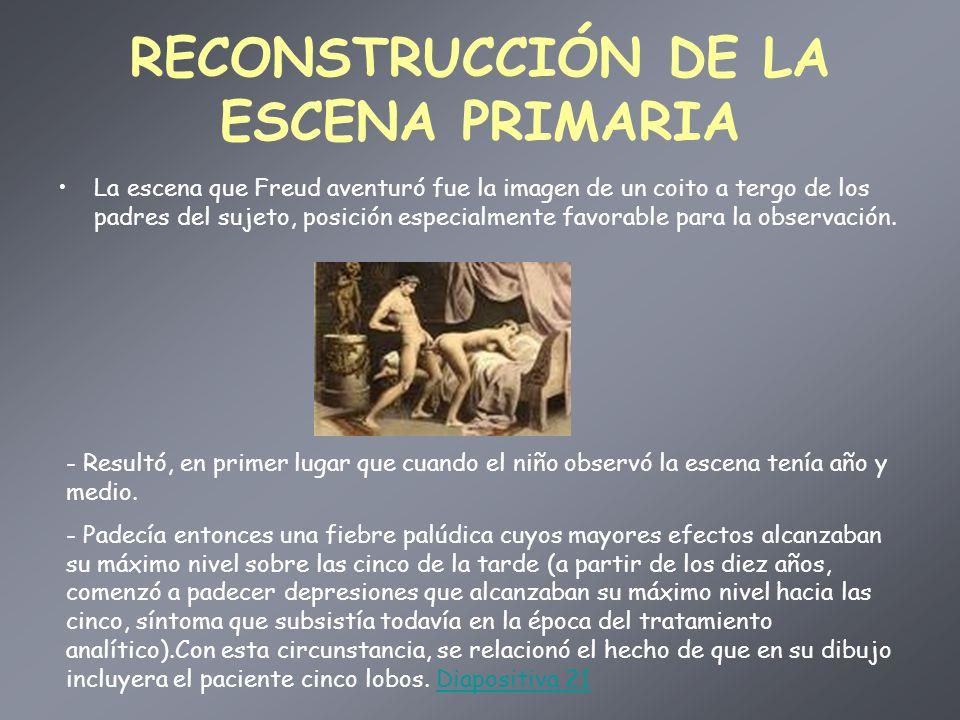 RECONSTRUCCIÓN DE LA ESCENA PRIMARIA