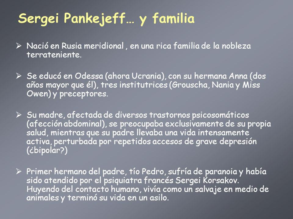 Sergei Pankejeff… y familia