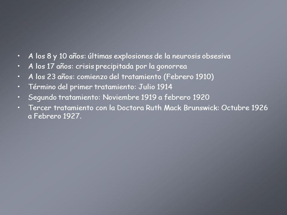 A los 8 y 10 años: últimas explosiones de la neurosis obsesiva