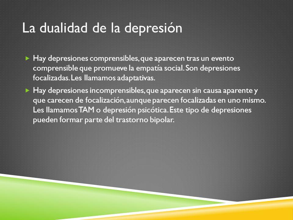 La dualidad de la depresión