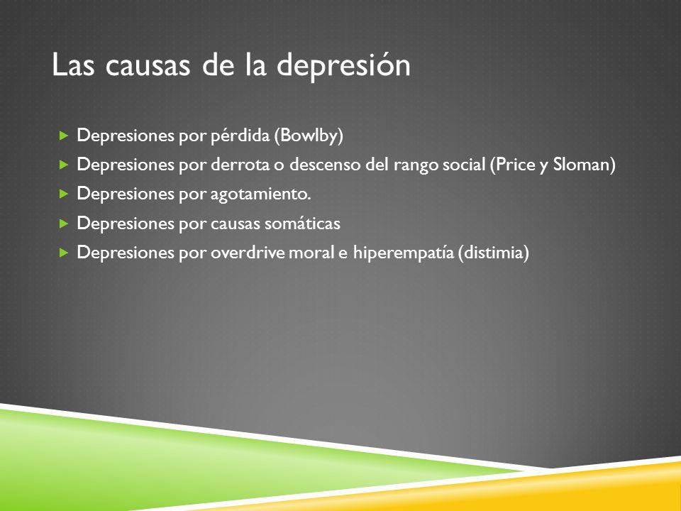 Las causas de la depresión