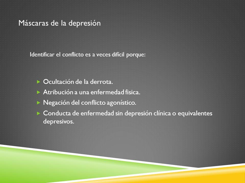 Máscaras de la depresión