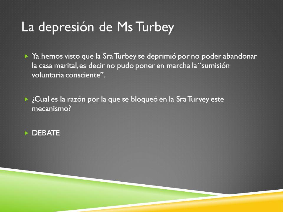 La depresión de Ms Turbey