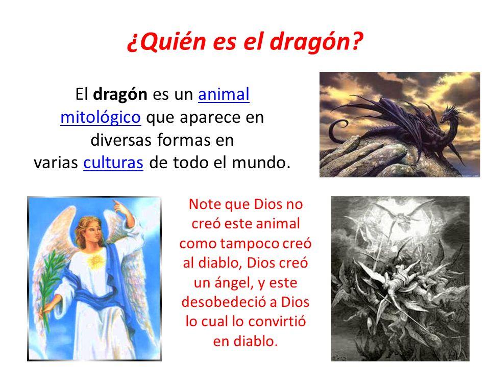 ¿Quién es el dragón El dragón es un animal mitológico que aparece en diversas formas en varias culturas de todo el mundo.