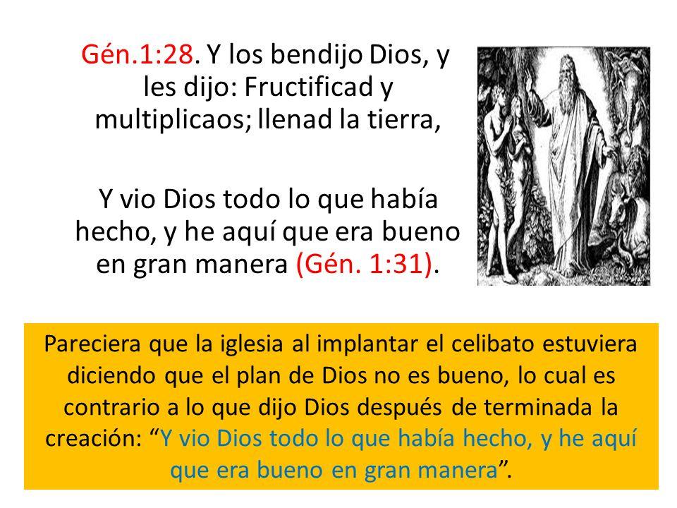 Gén.1:28. Y los bendijo Dios, y les dijo: Fructificad y multiplicaos; llenad la tierra,
