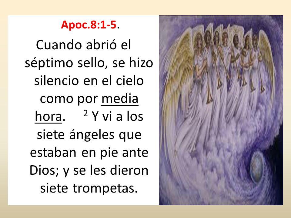 Apoc.8:1-5.