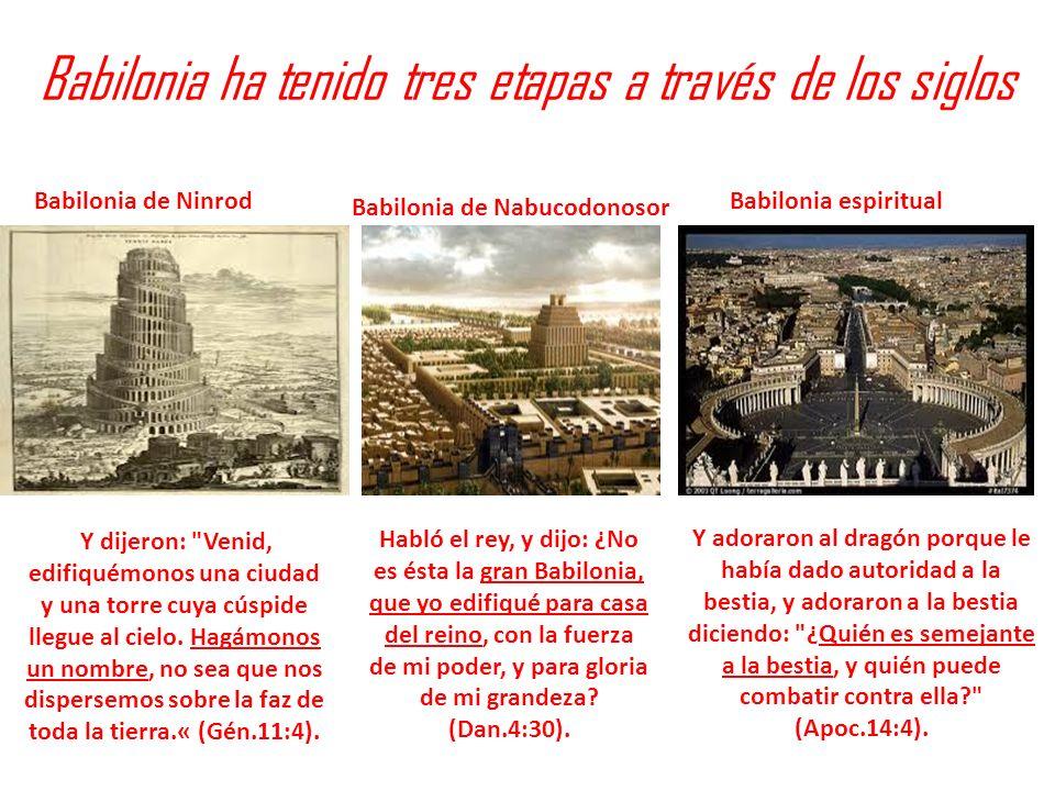 Babilonia ha tenido tres etapas a través de los siglos