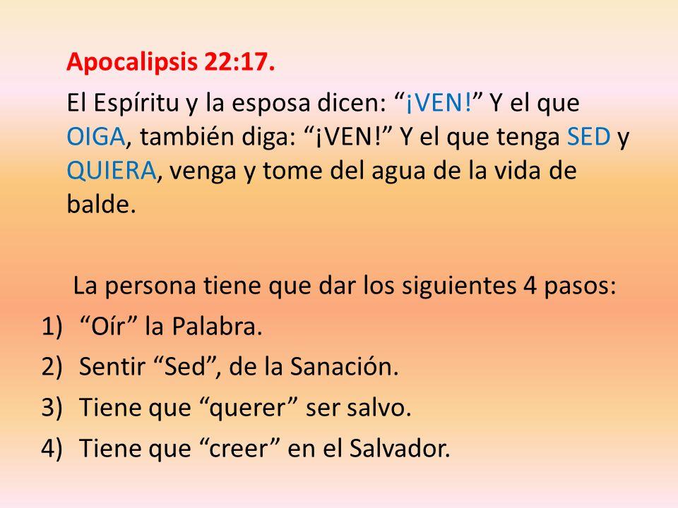 Apocalipsis 22:17.
