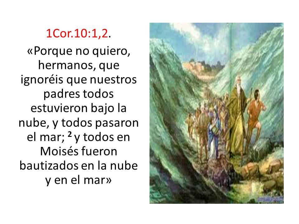 1Cor.10:1,2.