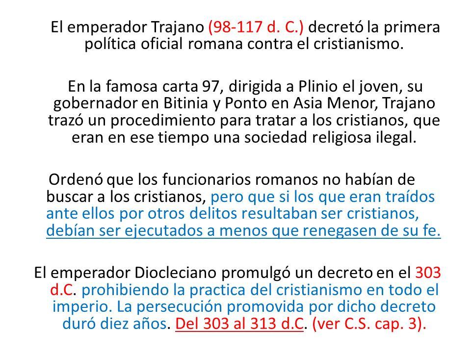 El emperador Trajano (98-117 d. C