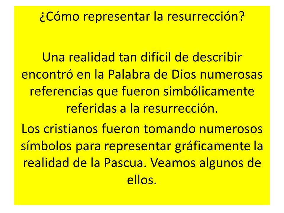 ¿Cómo representar la resurrección