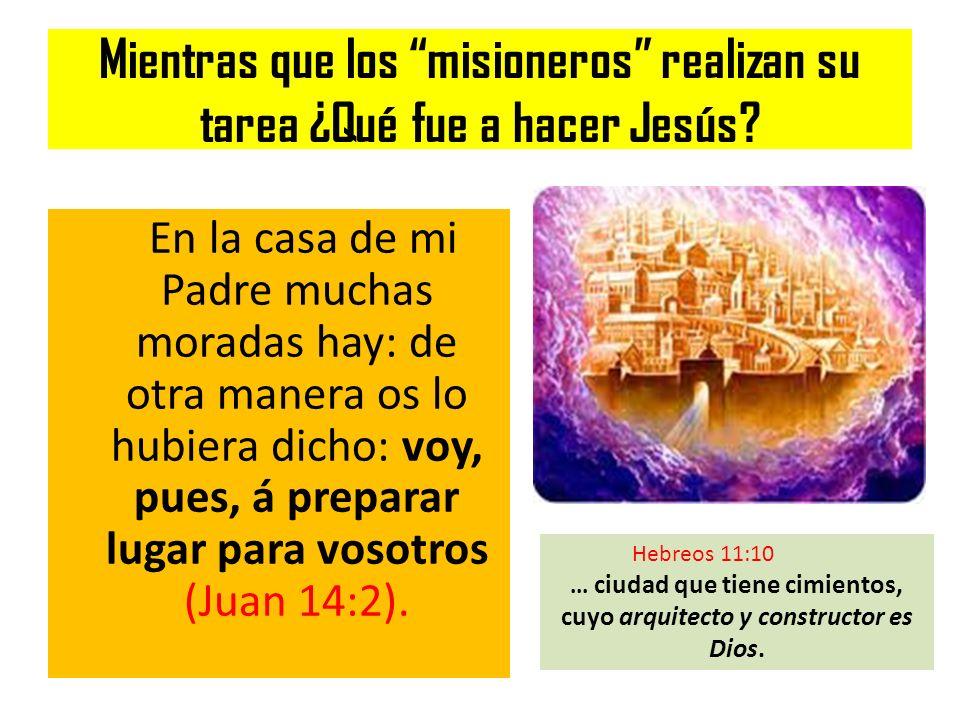 ... ciudad que tiene cimientos, cuyo arquitecto y constructor es Dios.