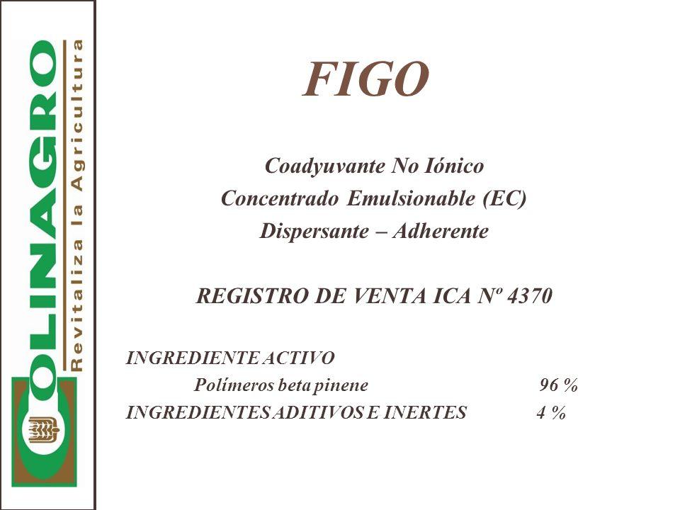 FIGO Coadyuvante No Iónico Concentrado Emulsionable (EC)