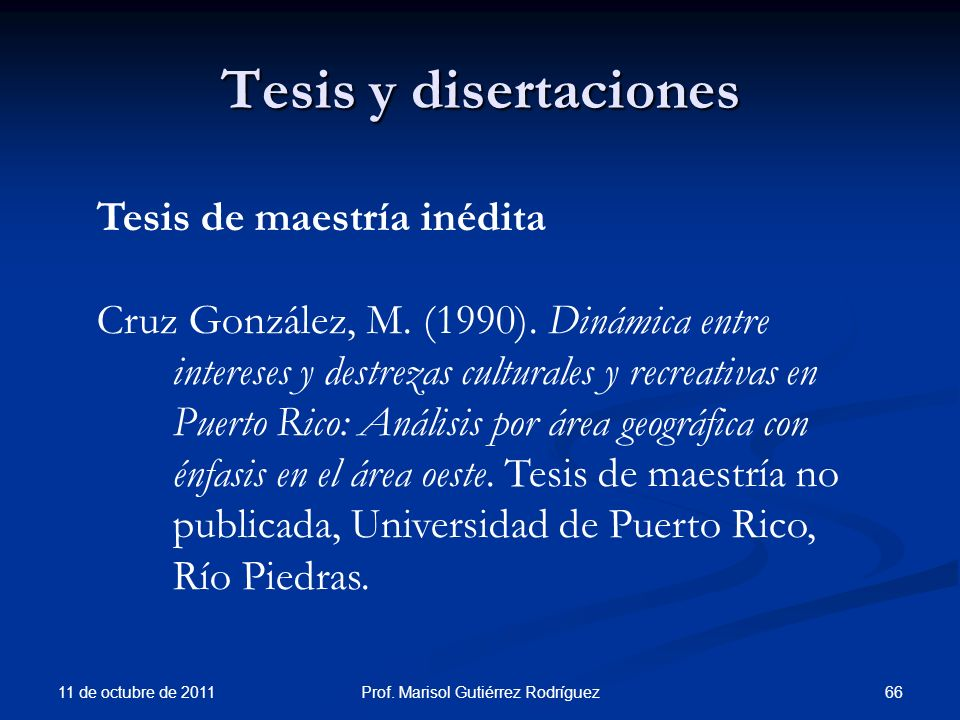 Prof. Marisol Gutiérrez Rodríguez