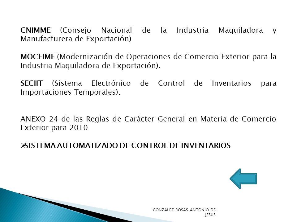 SISTEMA AUTOMATIZADO DE CONTROL DE INVENTARIOS
