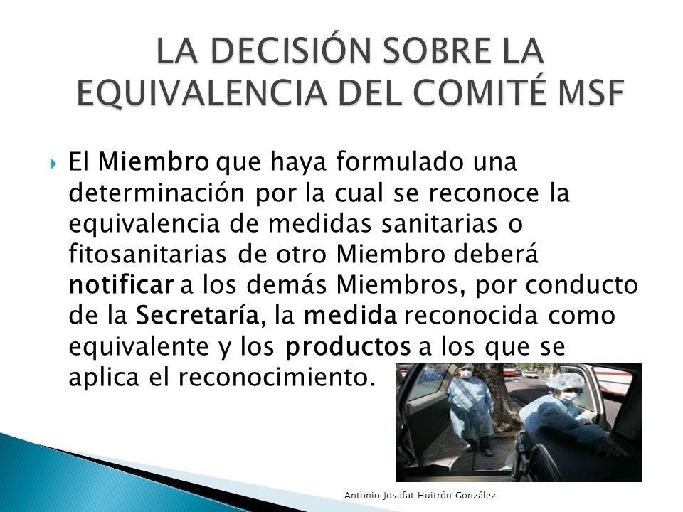 La Decisión sobre la equivalencia del Comité MSF