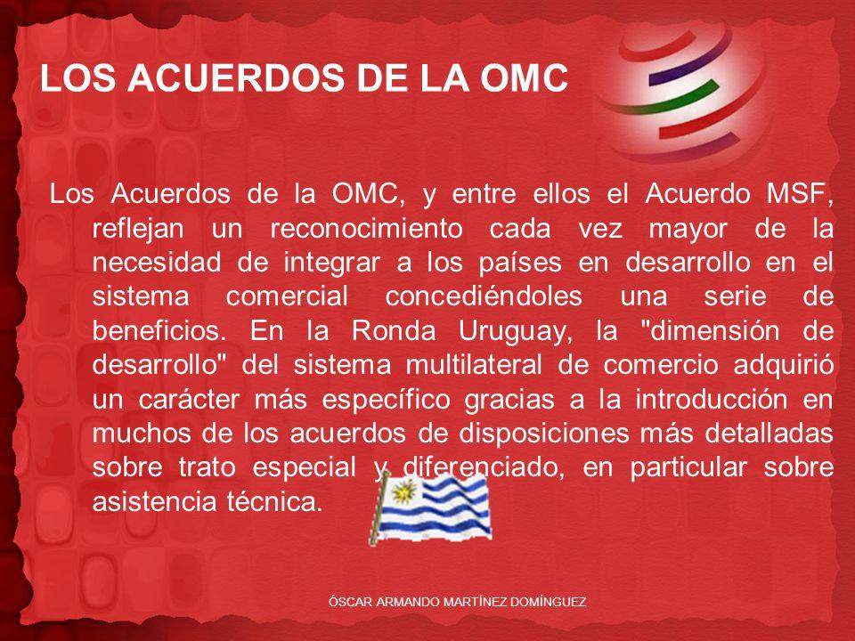 LOS ACUERDOS DE LA OMC