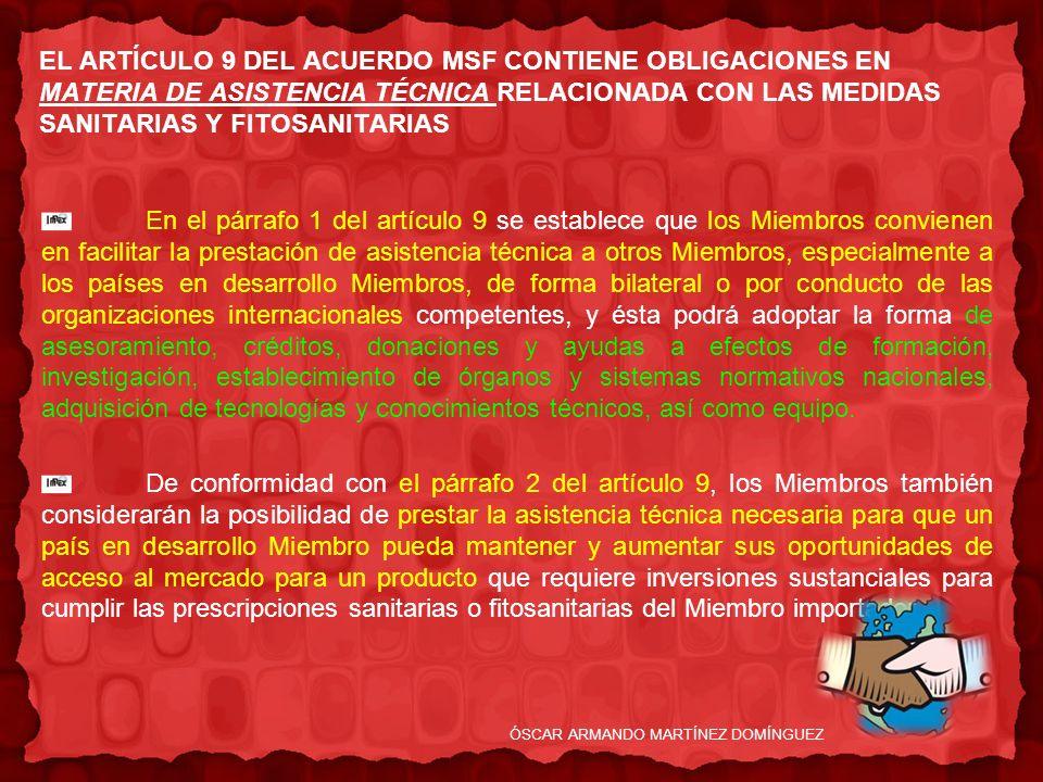 ÓSCAR ARMANDO MARTÍNEZ DOMÍNGUEZ