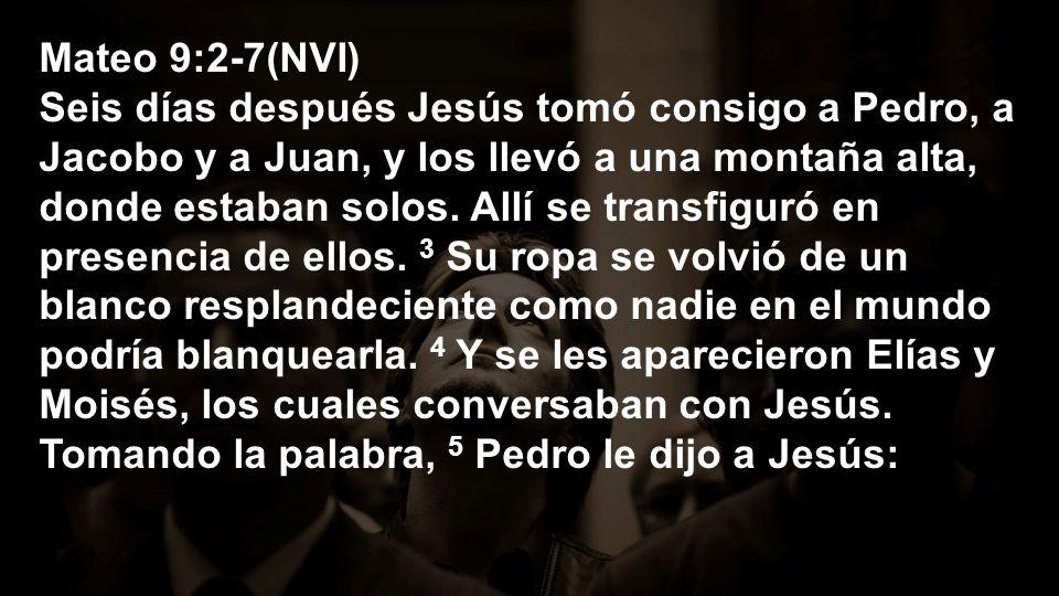Mateo 9:2-7(NVI)