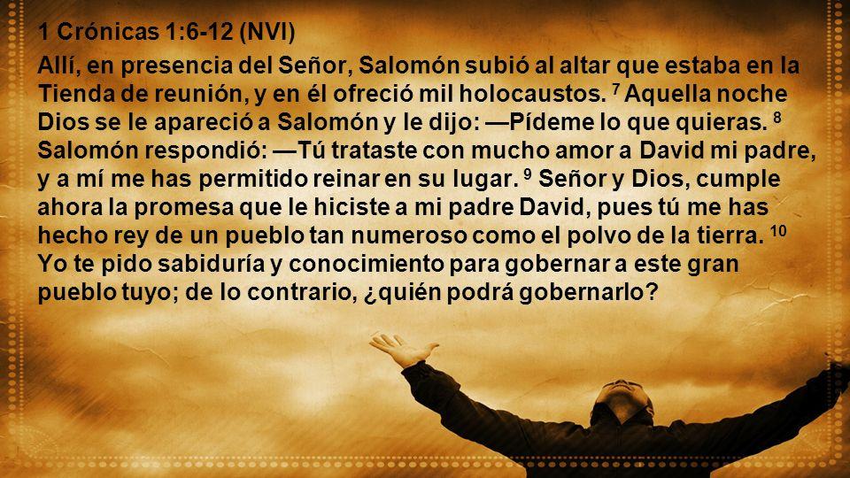 1 Crónicas 1:6-12 (NVI)