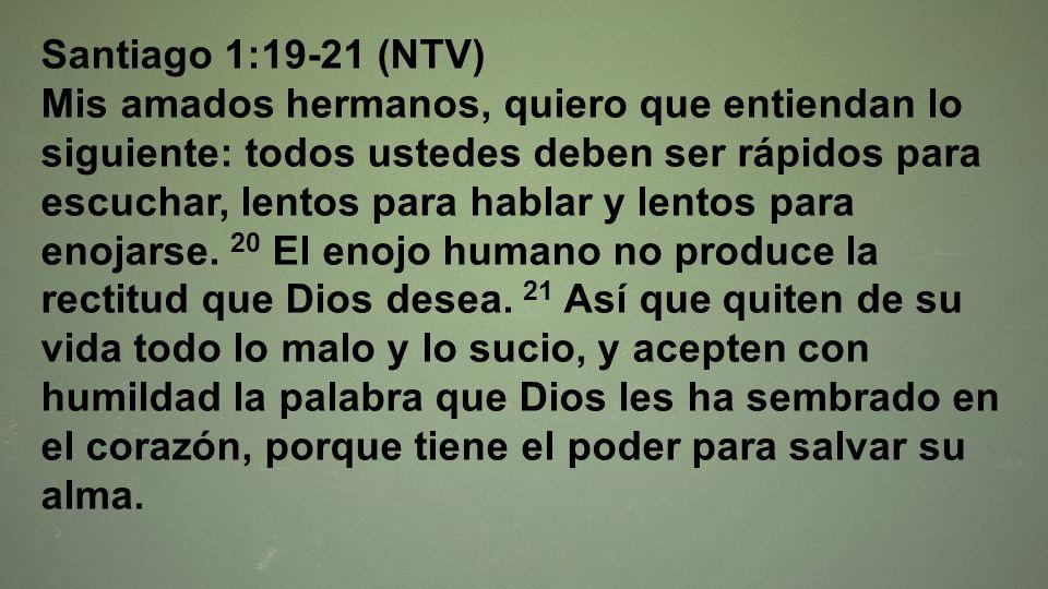 Santiago 1:19-21 (NTV)