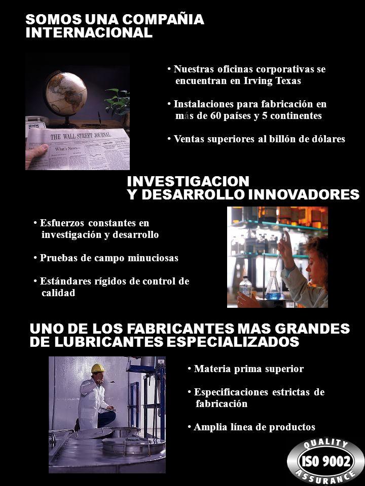 SOMOS UNA COMPAÑIA INTERNACIONAL