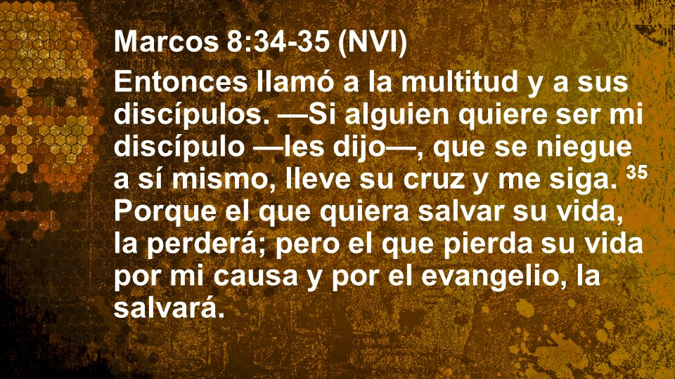 Widescreen 16:9 Marcos 8:34-35 (NVI)