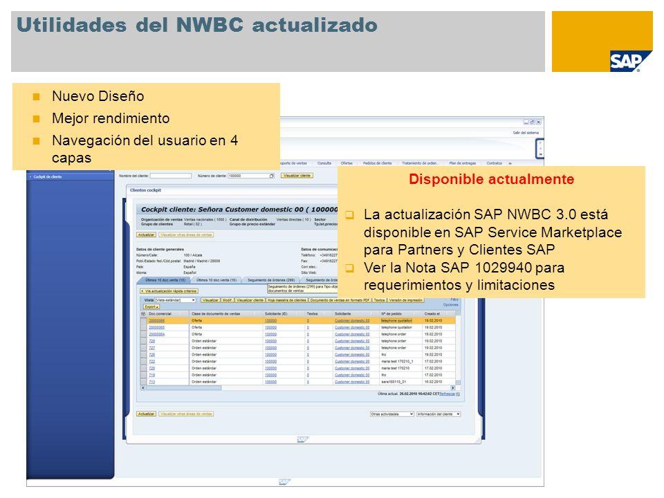 Utilidades del NWBC actualizado