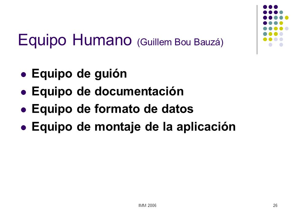 Equipo Humano (Guillem Bou Bauzá)