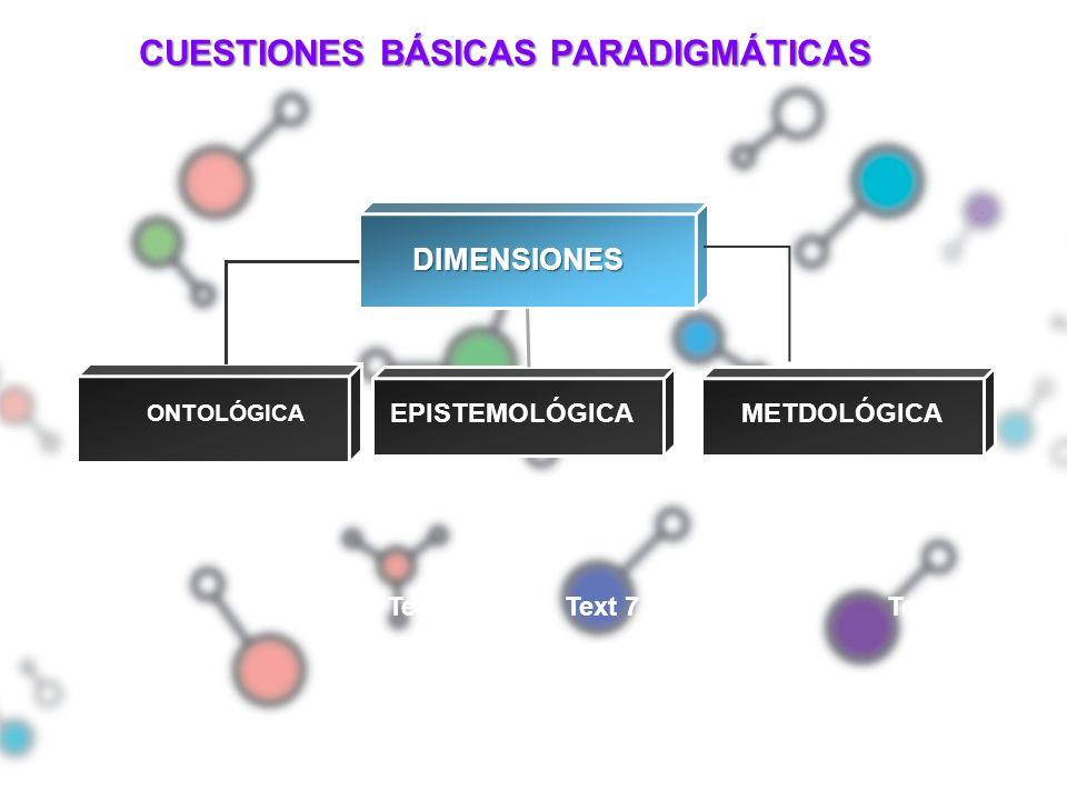 CUESTIONES BÁSICAS PARADIGMÁTICAS