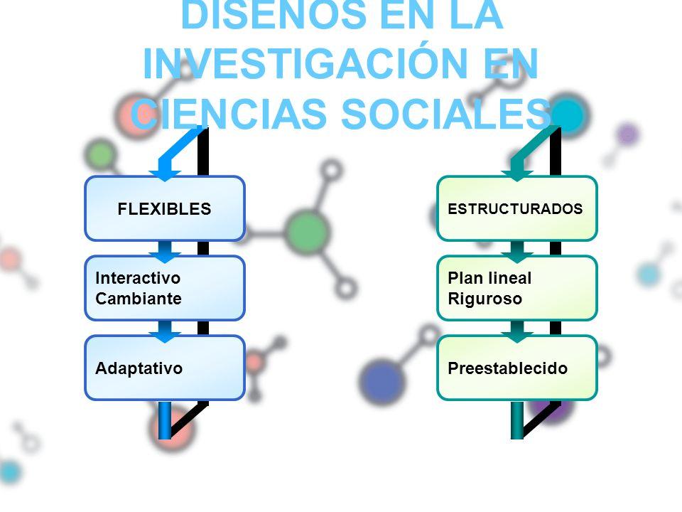 DISEÑOS EN LA INVESTIGACIÓN EN CIENCIAS SOCIALES