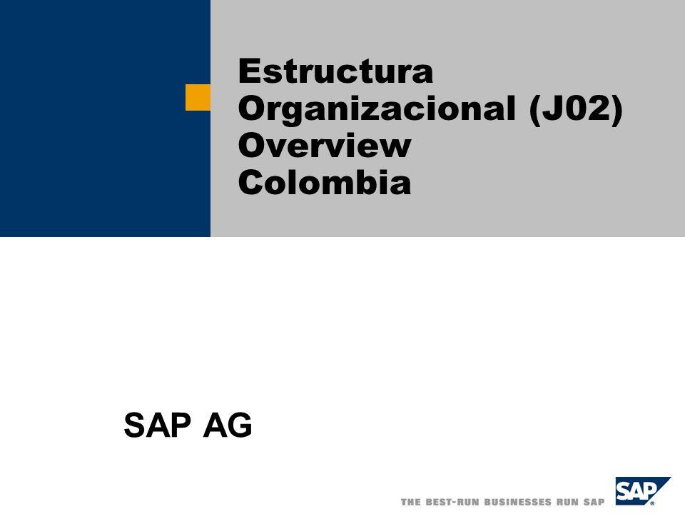 Estructura Organizacional (J02) Overview Colombia